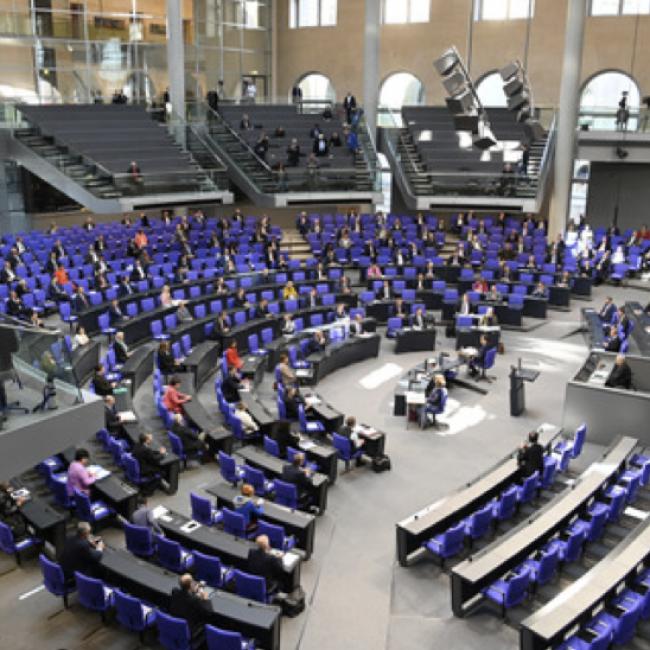 BVMW + Politik I Besuch einer Plenarsitzung im Deutschen Bundestag