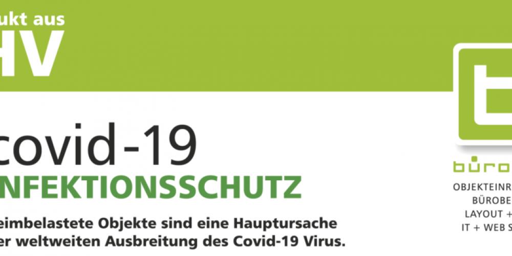covid-19 INFEKTIONSSCHUTZ von bürokom