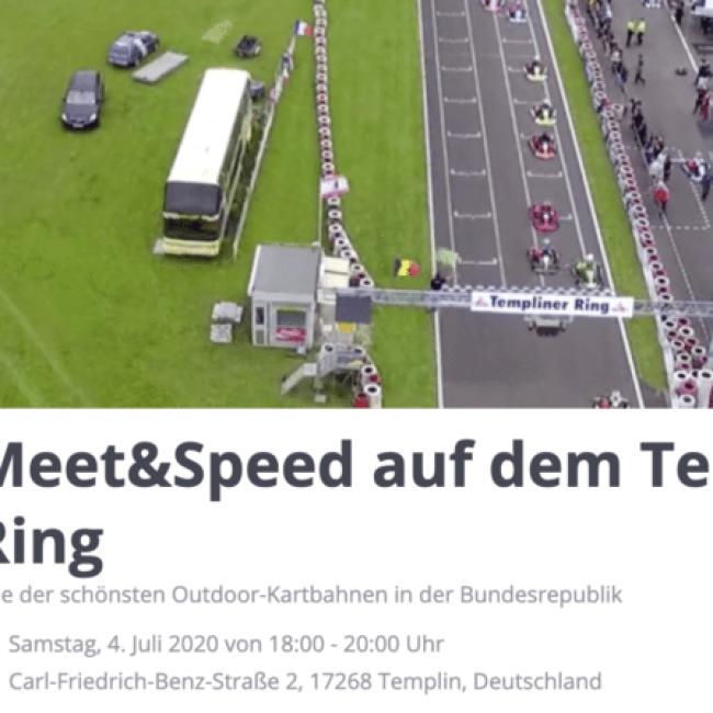 Meet&Speed auf dem Templiner Ring