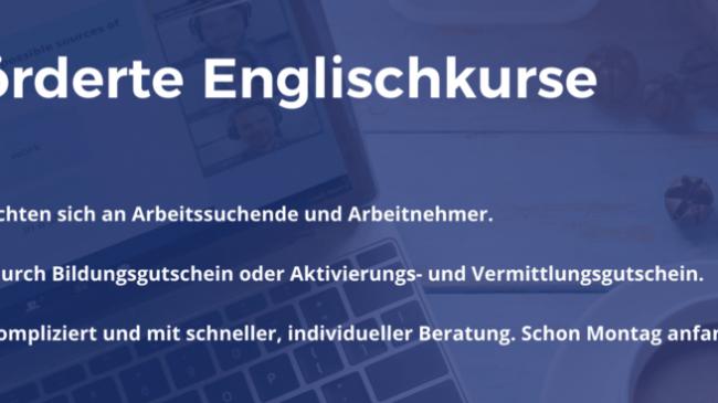 Jetzt Chancen nutzen und Englisch lernen – ideal auch während der Kurzarbeitszeit!